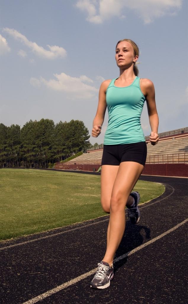 Muskelzerrung Oberschenkel durch Sport