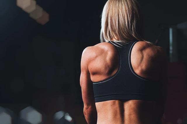 Muskelzerrung am Rücken